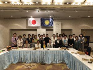 国際ソロプチミスト川崎例会集合写真