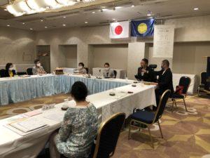 国際ソロプチミスト川崎例会の様子